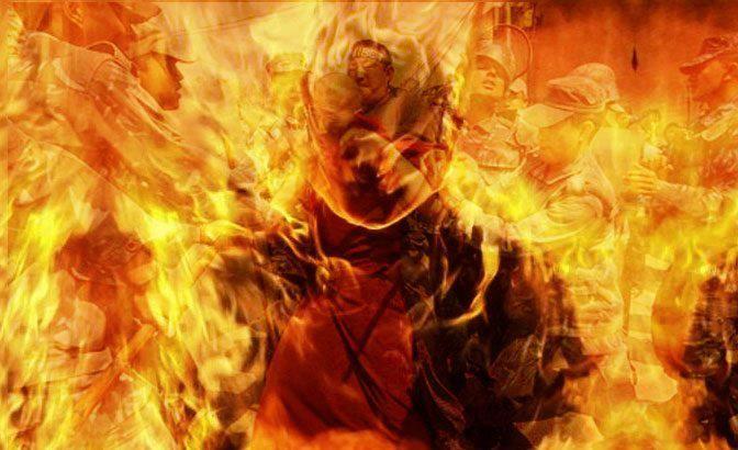 I Pinches tiranos (Da 'Il fuoco dal profondo ')